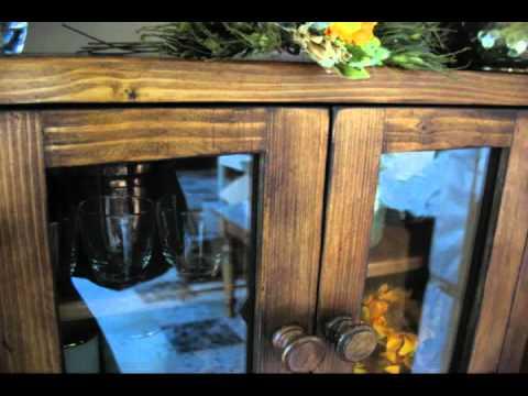 Mobili Rustici Eredi Caselli Antonio Pensile rustico da cucina e48flv  YouTube
