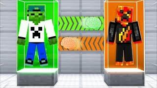 I Transformed into Preston! (Minecraft Brain Swap)