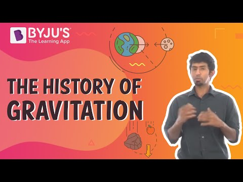 The History of Gravitation