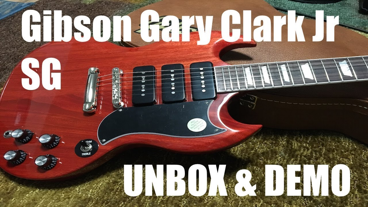 gibson les paul junior wiring diagram heat pump diagrams gary clark jr sg unbox review and demo youtube