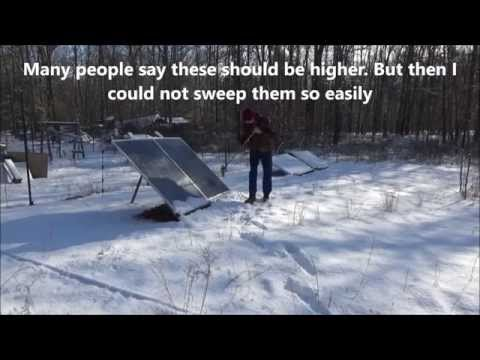 The Positive Effects Of Snow And Cold On Solar Panels