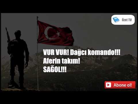 Komando Marşı - Bir Kar Yağar İnce İnce (Sözleriyle)