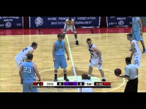 Oceanside Boys Basketball vs. Hampden Academy