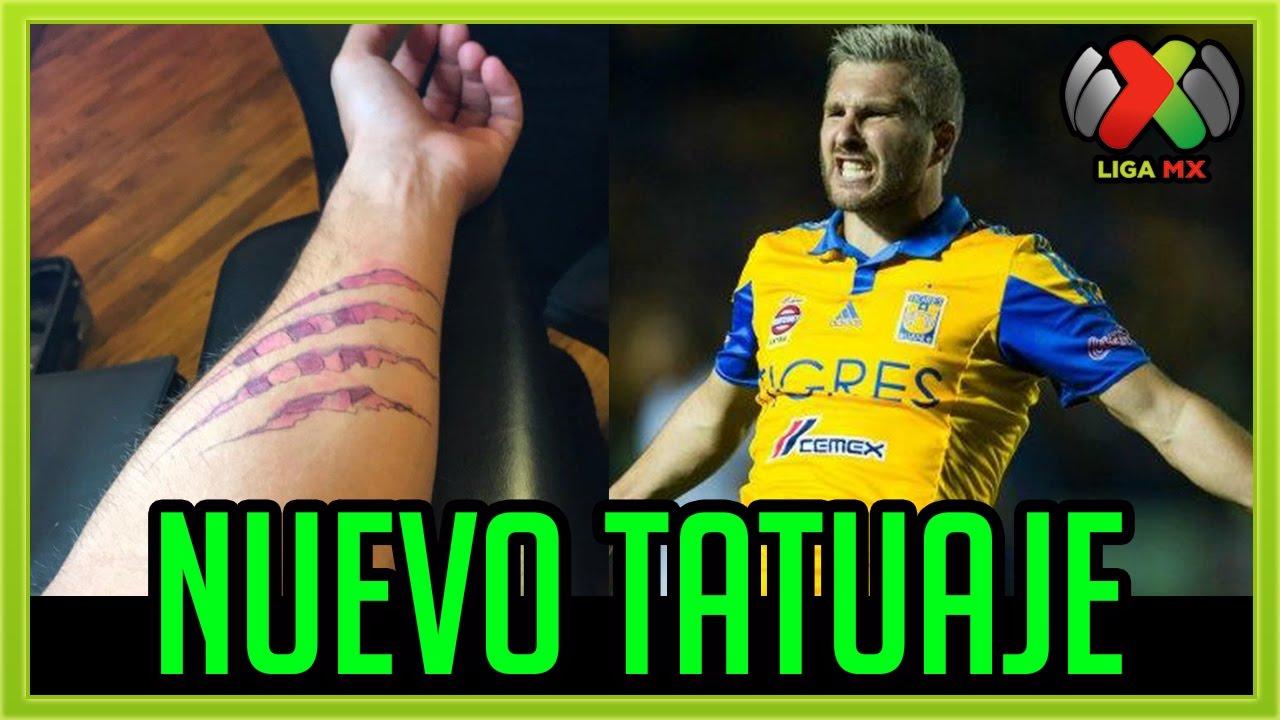 Gignac Nuevo Tatuaje De Tigres 2017 Youtube