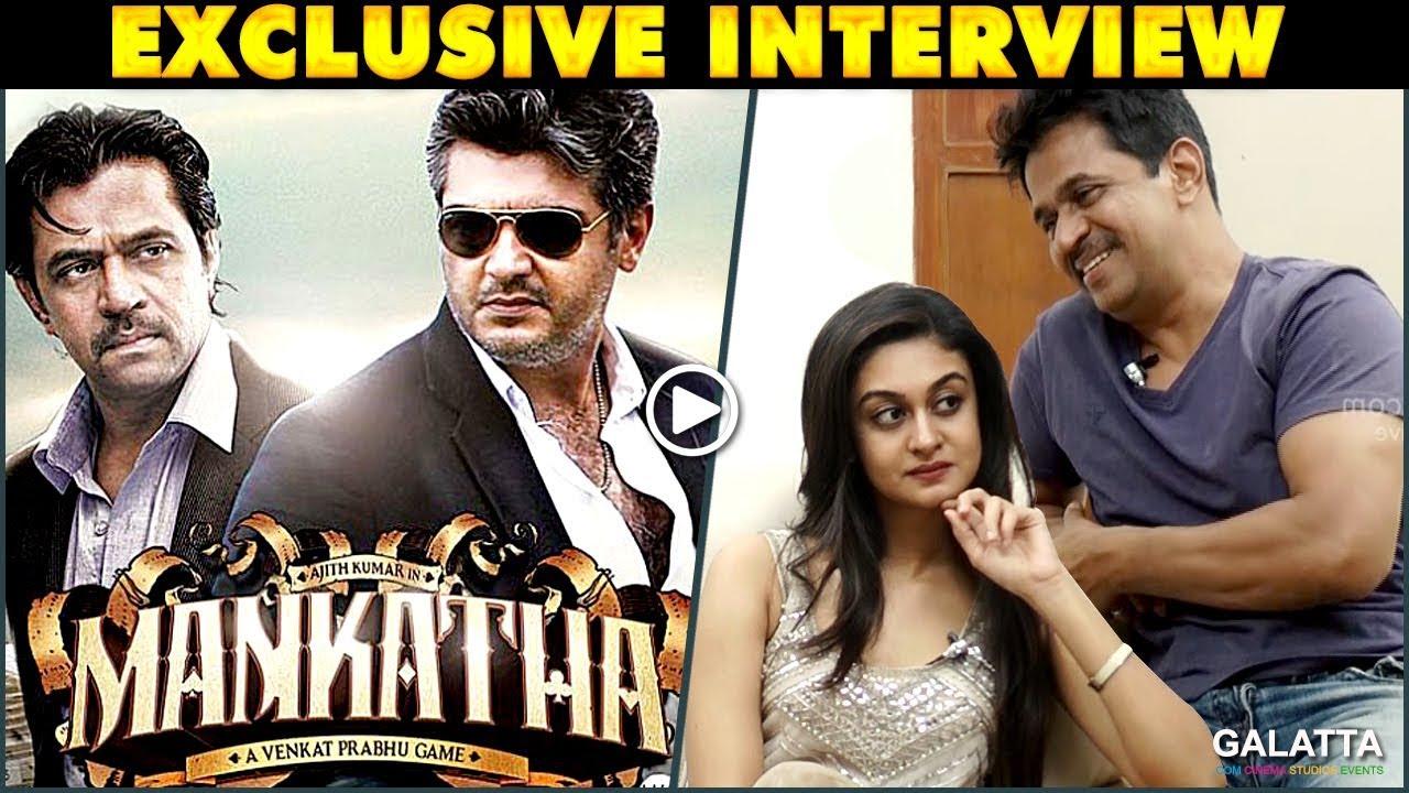 Mankatha 2 is what I am waiting for! - Aishwarya Arjun & Arjun Interview |  Galatta Exclusive