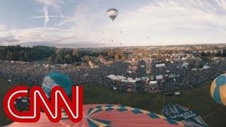 Float over Bristol in a hot air balloon - 360 Video