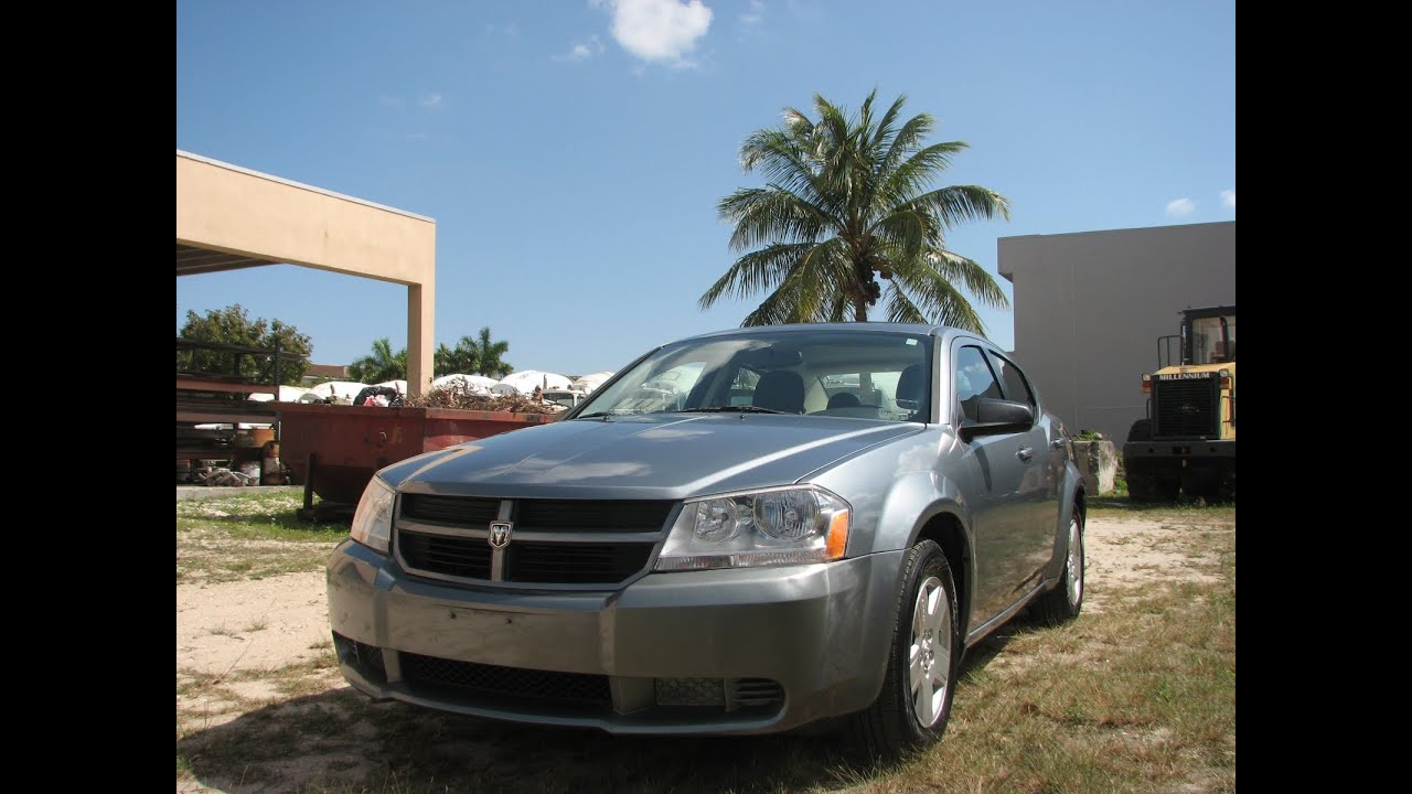 Dodge Avenger Sxt 2010 Gray My Mint Car