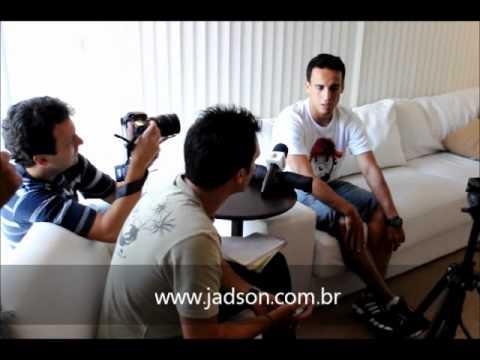 Bastidores da entrevista do craque Jadson ao Diário Lance! Confira!!!