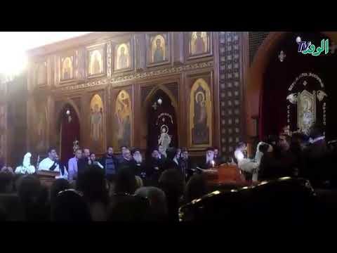 تشيع جنازة المخرج سمير سيف من كنيسة  السيدة العذراء مريم بارض الجولف  - 15:59-2019 / 12 / 10