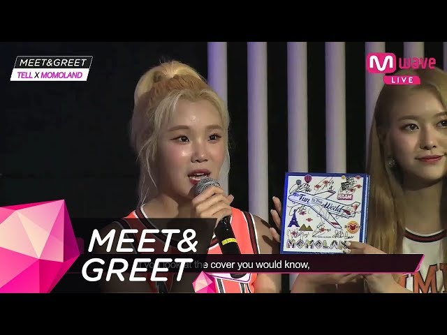 [MEET&GREET] Off to 'Fun to the world'! with JOOE! Introducing MOMOLAND's album full of dreams