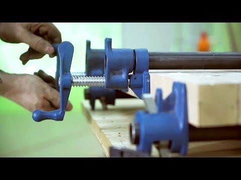 Дешевые струбцины для мастерской своими руками