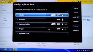 configurao adaptador wifi smart tv samsung