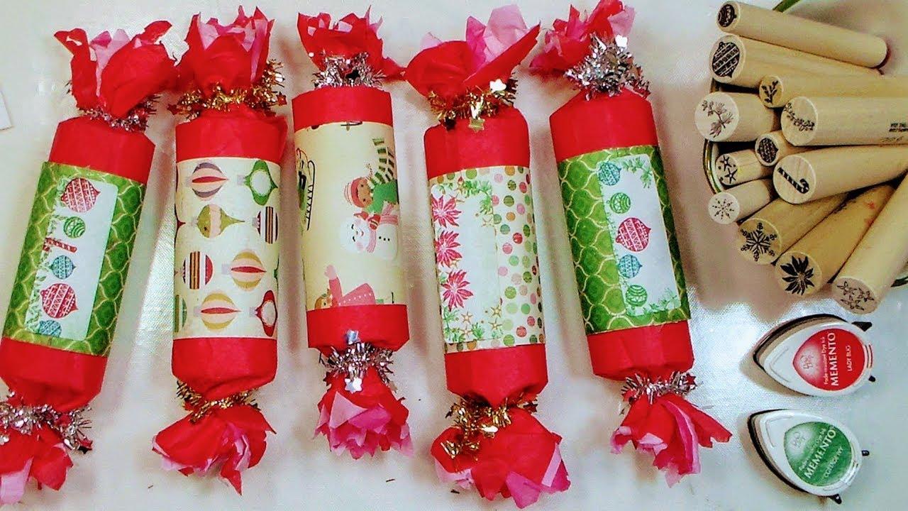 Christmas Crackers Diy.Diy Christmas Crackers Party Favor Gift Packaging Advent Calendar Idea