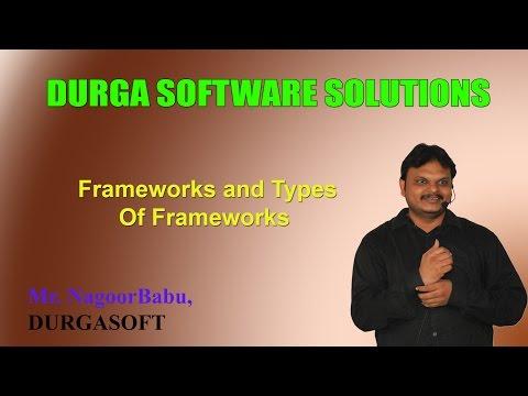 Frameworks and Types Of Frameworks