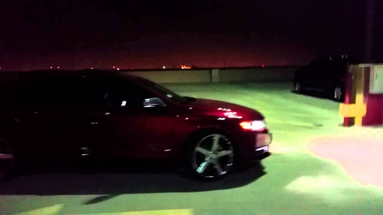 2015 Chevy Impala Ltz On 22 Rims Irocs Youtube
