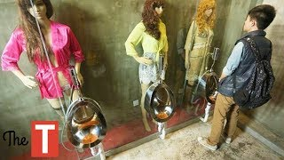 Top 10 Airlines - 10 Most Bizarre Bathrooms From Around The World