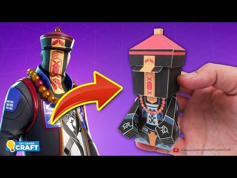 Fortnite: PARADOX Paper Craft (DIY)