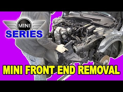 Mini Cooper S (R56) Front End Disassembly