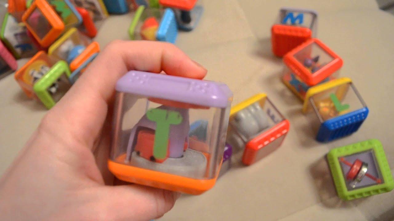 Сенсорные кубики Fisher Price - YouTube