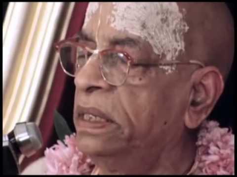 Anyone who is Elevated to the Spiritual Platform, He is Prasannatma. He is Jolly - Prabhupada 0874