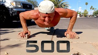 500 Pushups Without Stopping - RESULTS!