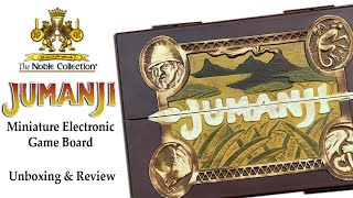 The Noble Collection Jumanji Miniature Electronic Game Board: Unboxing And Review!