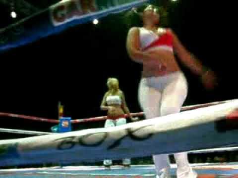 Edecanes Funciones De Boxeo Promociones Calder U00f3n  Dasilva