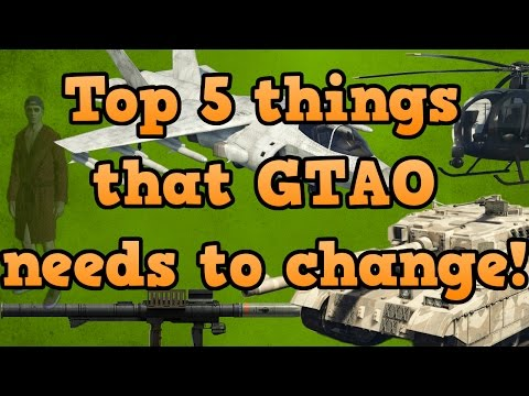 My top 5 things that GTA online needs changing
