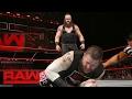 Braun Strowman Vs. Kevin Owens - Wwe Universal Championship Match: Raw, Jan. 30, 2017 video