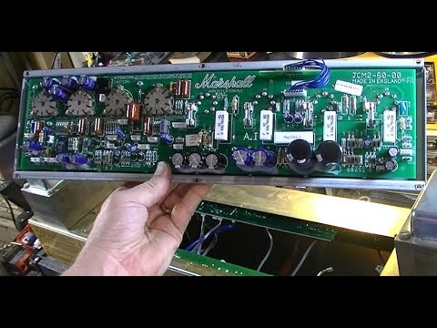 IT'S BAAAAACK!  Marshall DSL100 Motherboard Replacement