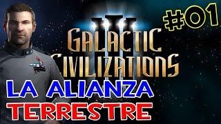 GALACTIC CIVILIZATIONS 3 GAMEPLAY EN ESPAÑOL - LA ALIANZA DE LA TIERRA #01