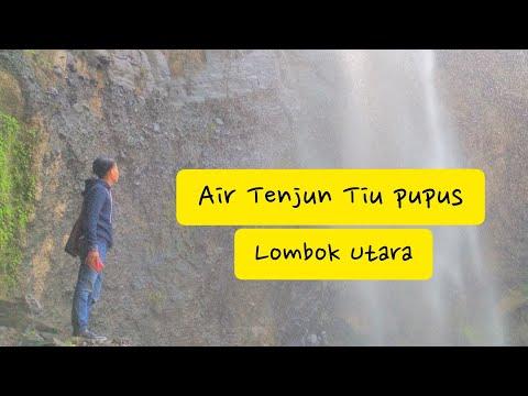 vlog-ite-#2||wisata-air-terjun-tiu-pupus-lombok-utara-yang-menawan