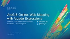ArcGIS Online: Web Mapping with Arcade Expressions