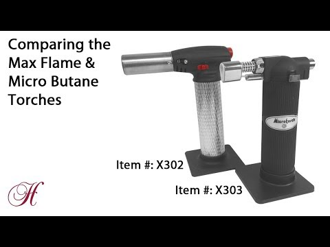 Comparing the Max Flame & Micro Butane Soldering Torches
