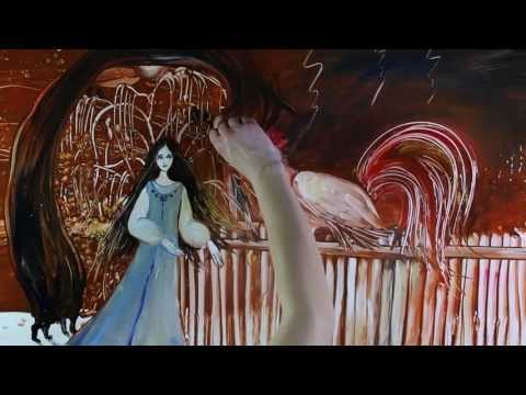 "Amazing colour drawing (live) ""Legends of Russia"" by Kseniya Simonova (2013)"