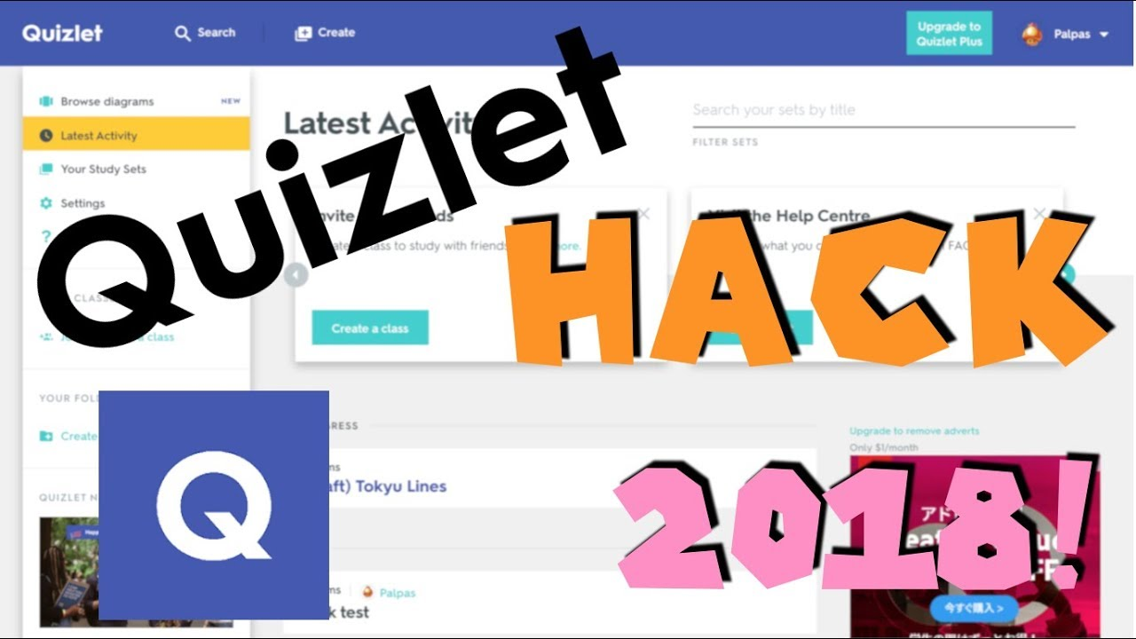 outdated :( How to Hack Quizlet 2019 Patched - YouTube