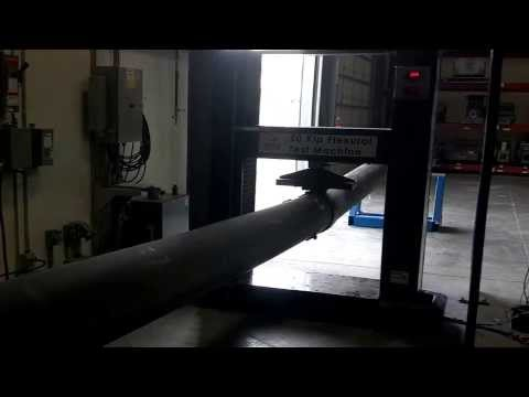 Fiberglass Reinforced Polymer (FRP) Utility Pole Splice Test