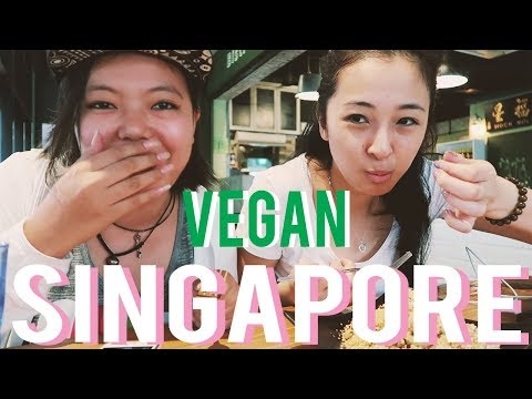 🇸🇬 FIRST DAY IN SINGAPORE AS A VEGAN