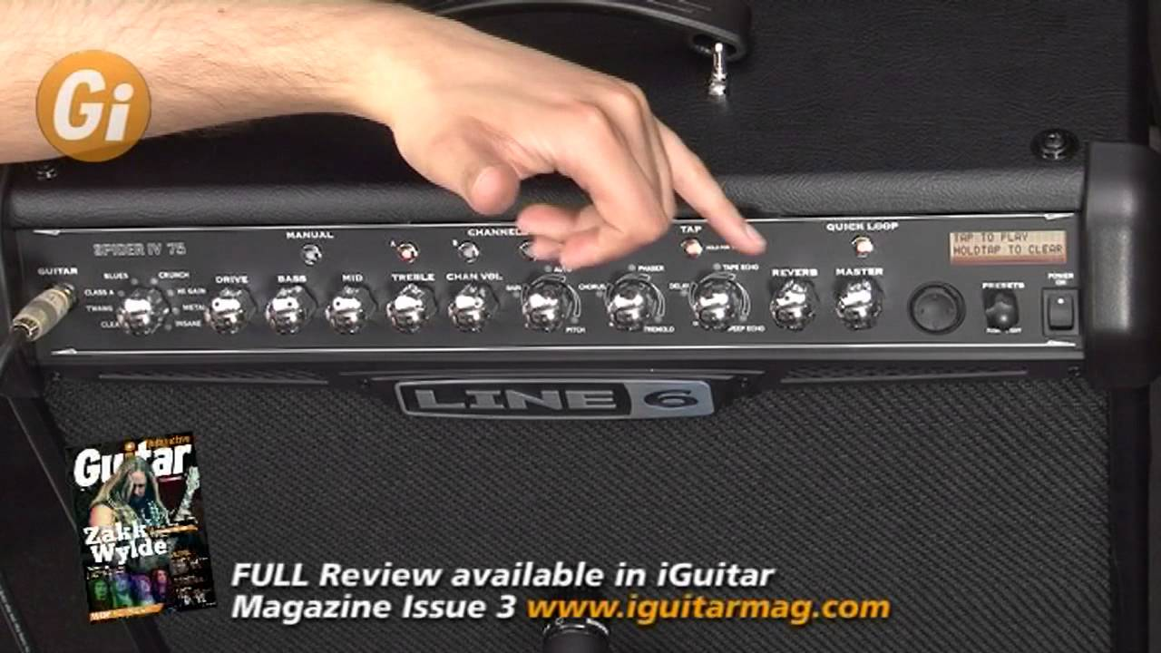 line 6 spider iv manual pdf