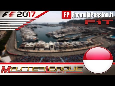 Master League FormulaPassion.it F1 2017 #06 GP Monaco 16.11.17 - Live Streaming 1080p