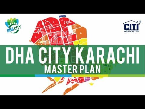 DHA City Karachi (DCK) Map – Master Plan : DHA Today