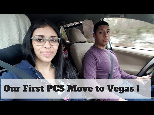 Our First PCS /New York to Nellis AFB in Vegas Part 1