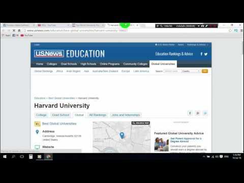 Online masters degree of Harvard University
