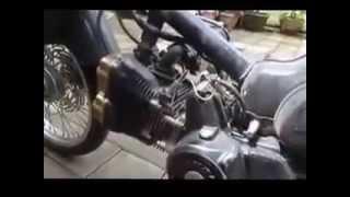 Modifikasi Motor Honda Pitung C 70  DOHC