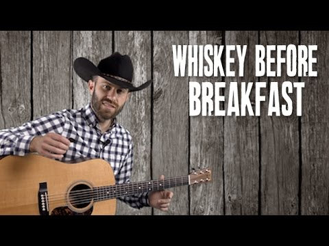 Whiskey Before Breakfast - Guitar Lesson with Lyrics - Bluegrass Flatpicking
