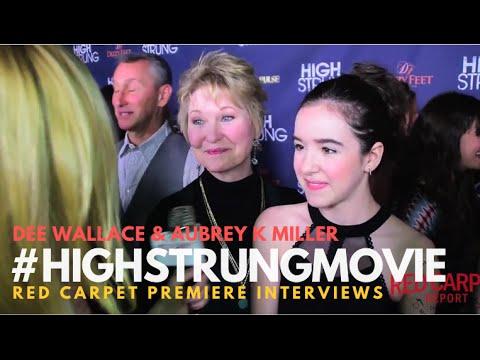 "Dee Wallace & Aubrey K Miller #JustAddMagic at Premiere for ""High Strung"" #HighStrungMovie"