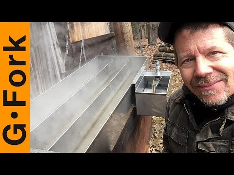 Check Out My Maple Syrup Evaporator And New Float Box
