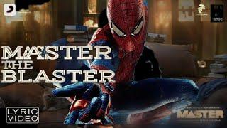 master the blaster spider man version  Spidey blast