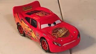 Disney Cars Determind Lightning McQueen diecast review