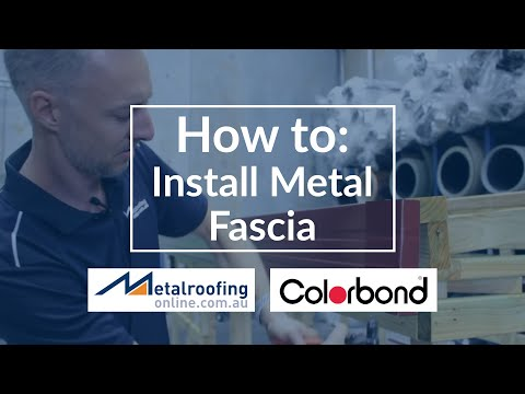 How to: Install Metal Fascia COLORBOND® | Metal Roofing Online